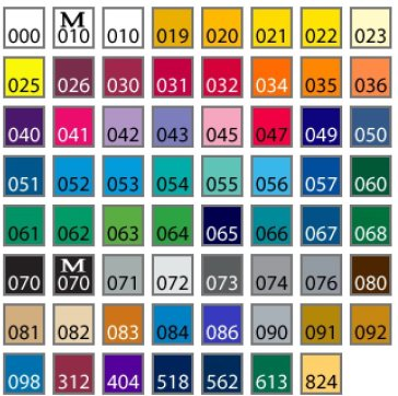 oracal color chart