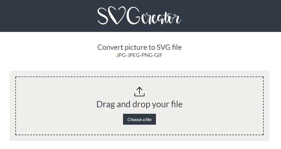 Convert JPG PNG GIF to SVG via http://SVGCreator com – HTV Addicts