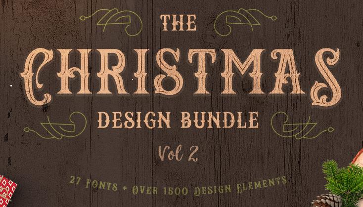 95% off Fontbundles Christmas Craft Bundles, Fonts & Design